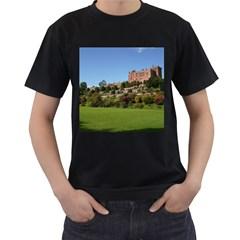 Powis Castle Terraces Men s T Shirt (black) (two Sided) by trendistuff
