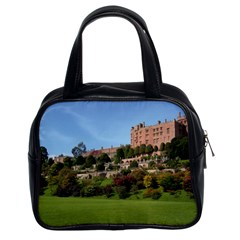 Powis Castle Terraces Classic Handbags (2 Sides) by trendistuff