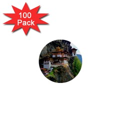 Paro Taktsang 1  Mini Buttons (100 Pack)  by trendistuff