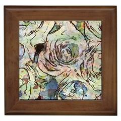 Art Studio 6216a Framed Tiles by MoreColorsinLife