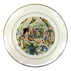 Art Studio 6216a Porcelain Plates by MoreColorsinLife