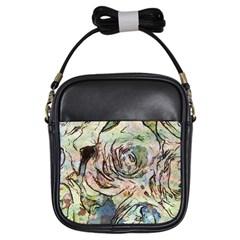 Art Studio 6216a Girls Sling Bags by MoreColorsinLife