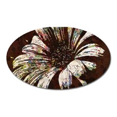 Art Studio 6216c Oval Magnet by MoreColorsinLife