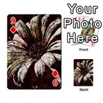 Art Studio 6216c Playing Cards 54 Designs  Front - Diamond9