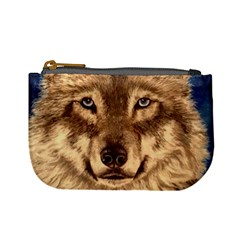 Wolf Coin Change Purse by ArtByThree