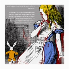 Alice In Wonderland Medium Glasses Cloth (2 Side)