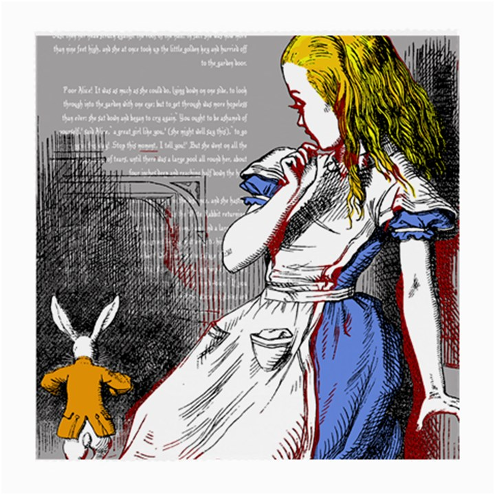 Alice In Wonderland Medium Glasses Cloth (2-Side)