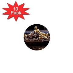 Palace Of Versailles 3 1  Mini Buttons (10 Pack)  by trendistuff