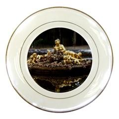 Palace Of Versailles 3 Porcelain Plates by trendistuff