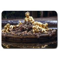 Palace Of Versailles 3 Large Doormat  by trendistuff