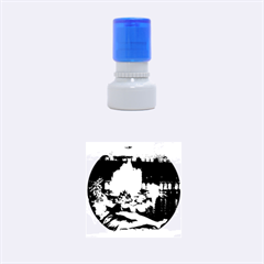 Palace Of Versailles 2 Rubber Round Stamps (small) by trendistuff