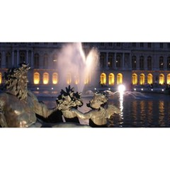 Palace Of Versailles 2 You Are Invited 3d Greeting Card (8x4)  by trendistuff