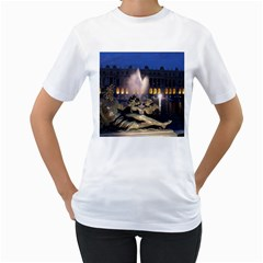 Palace Of Versailles 2 Women s T Shirt (white)  by trendistuff