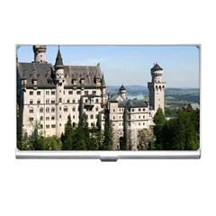 Neuschwanstein Castle 2 Business Card Holders by trendistuff