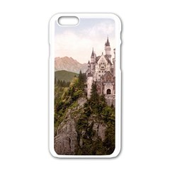 Neuschwanstein Castle Apple Iphone 6/6s White Enamel Case