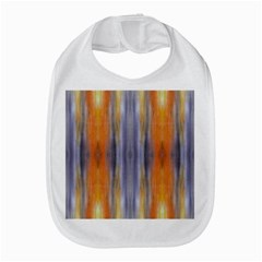 Gray Orange Stripes Painting Bib by Costasonlineshop