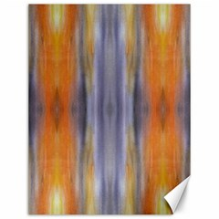 Gray Orange Stripes Painting Canvas 12  x 16   by Costasonlineshop