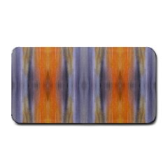 Gray Orange Stripes Painting Medium Bar Mats by Costasonlineshop