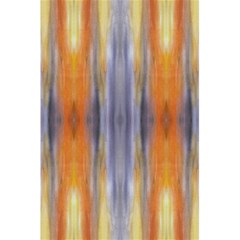 Gray Orange Stripes Painting 5 5  X 8 5  Notebooks by Costasonlineshop