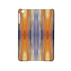 Gray Orange Stripes Painting Ipad Mini 2 Hardshell Cases