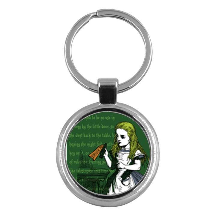 Alice In Wonderland Key Chains (Round)