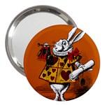 The White Rabbit 3  Handbag Mirrors