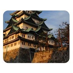 Nagoya Castle Double Sided Flano Blanket (large)  by trendistuff