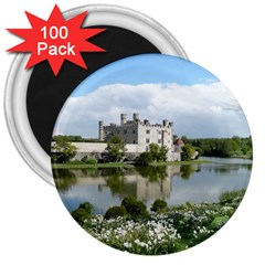 Leeds Castle 3  Magnets (100 Pack) by trendistuff