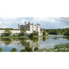LEEDS CASTLE YOU ARE INVITED 3D Greeting Card (8x4)  by trendistuff