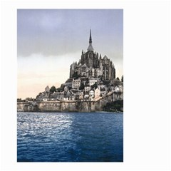 Le Mont St Michel 2 Small Garden Flag (two Sides) by trendistuff