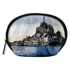 Le Mont St Michel 2 Accessory Pouches (medium)  by trendistuff