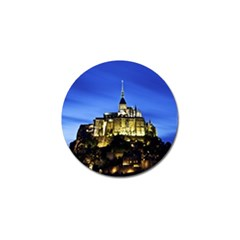 Le Mont St Michel 1 Golf Ball Marker (4 Pack) by trendistuff