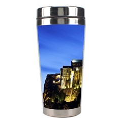 Le Mont St Michel 1 Stainless Steel Travel Tumblers by trendistuff