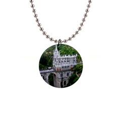 Las Lajas Sanctuary 2 Button Necklaces by trendistuff