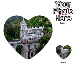 Las Lajas Sanctuary 2 Multi Purpose Cards (heart)