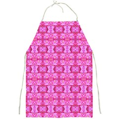 Pretty Pink Flower Pattern Full Print Aprons by Costasonlineshop