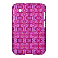 Pretty Pink Flower Pattern Samsung Galaxy Tab 2 (7 ) P3100 Hardshell Case