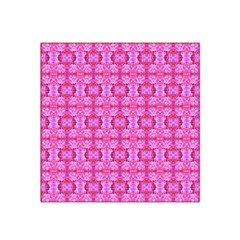 Pretty Pink Flower Pattern Satin Bandana Scarf by Costasonlineshop