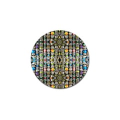 Kaleidoscope Jewelry  Mood Beads Golf Ball Marker by BadBettyz