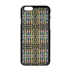 Kaleidoscope Jewelry  Mood Beads Apple Iphone 6/6s Black Enamel Case by BadBettyz