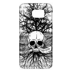 Skull & Books Galaxy S6 by waywardmuse