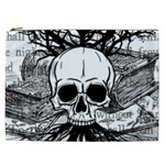 Skull & Books Cosmetic Bag (XXL)
