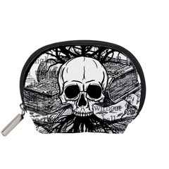 Skull & Books Accessory Pouches (Small)