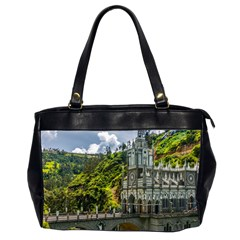 Las Lajas Sanctuary 1 Office Handbags (2 Sides)  by trendistuff