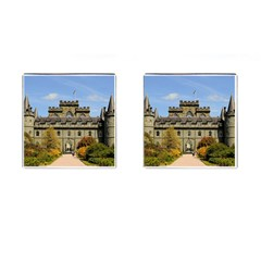 Inveraray Castle Cufflinks (square) by trendistuff