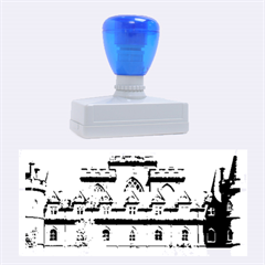 Inveraray Castle Rubber Stamps (large) by trendistuff