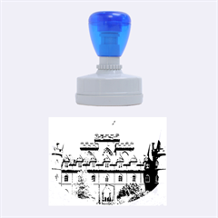 Inveraray Castle Rubber Oval Stamps by trendistuff