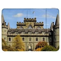 Inveraray Castle Samsung Galaxy Tab 7  P1000 Flip Case by trendistuff