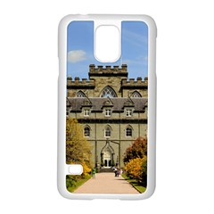Inveraray Castle Samsung Galaxy S5 Case (white) by trendistuff
