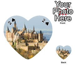 Hilltop Castle Playing Cards 54 (heart)